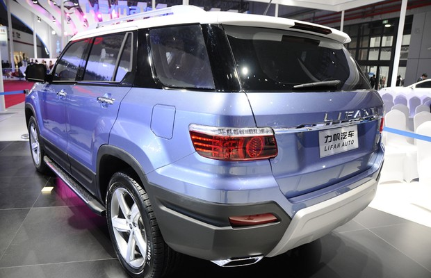 Lifan conceito X70 (Foto: Newspress)