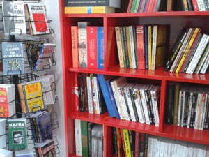 Livraria é um dos espaços da Aldeia (Foto: Vitor Xavier/Divulgação)