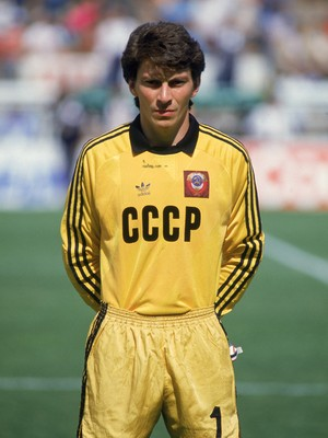 Dasayev - União Soviética 1986 (Foto: Getty Images)