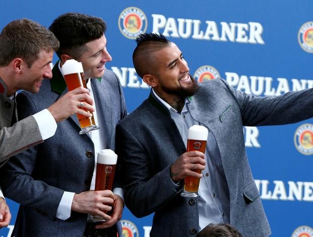 Bayern de Munique ensaio cerveja