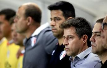 """Ramon lamenta confusão e fala sobre derrota: """"Desorganizamos um pouco"""""""