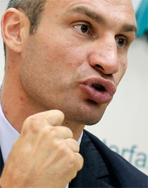 Vitali Klitschko boxe (Foto: Reuters)