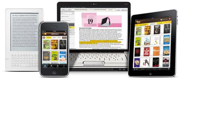 Com interface moderna, app digital da Saraiva traz diversos recursos interessantes (Foto: Divulgação/ Saraiva Digital Reader)