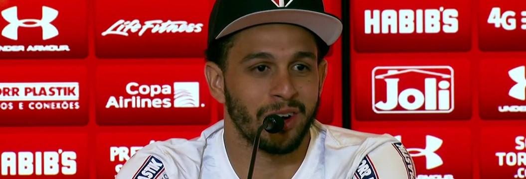 Veja a íntegra da entrevista de apresentação de Wellington Nem no São Paulo
