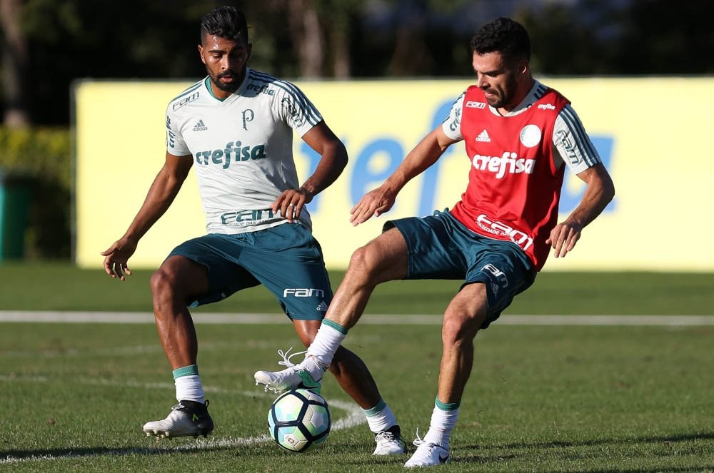 Cinco nomes, duas vagas: como Cuca pode montar o meio de campo do Palmeiras
