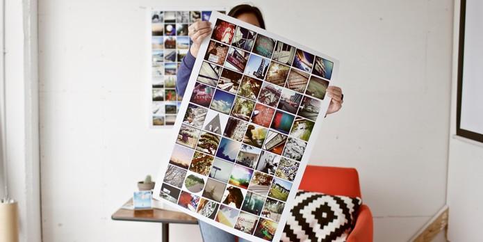 Com Printstagram você pode criar pôsteres, ímãs, camisas e muito mais (Foto: Divulgação/Juliana Pixinine)