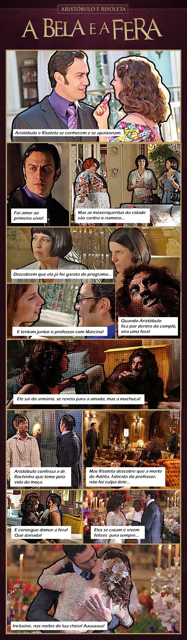 Relembre a história de amor entre a bela e a fera de Saramandaia  (Foto: TV Globo/ Saramandaia)