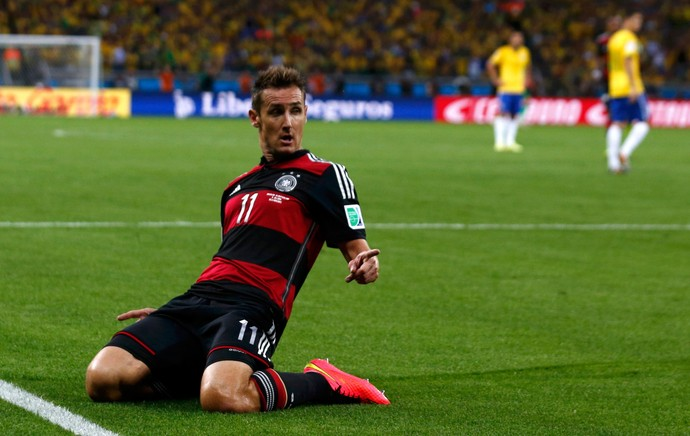 Klose gol Alemanha x Brasil, Mineirão (Foto: Reuters)