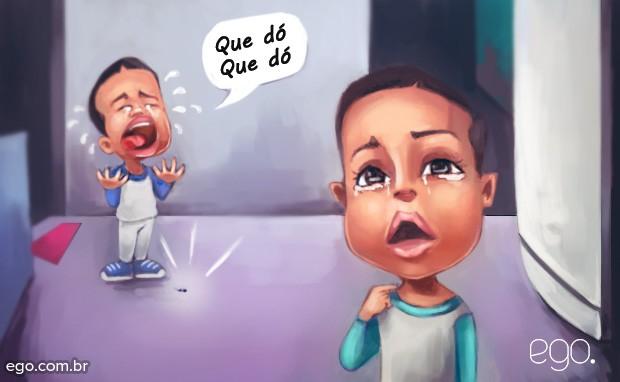 Dia das Crianças - Que Dó, que dó  (Foto: Ilustração: Enderson Santos / Ego)