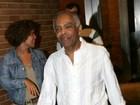 Gilberto Gil participará da gravação do DVD de Thiaguinho