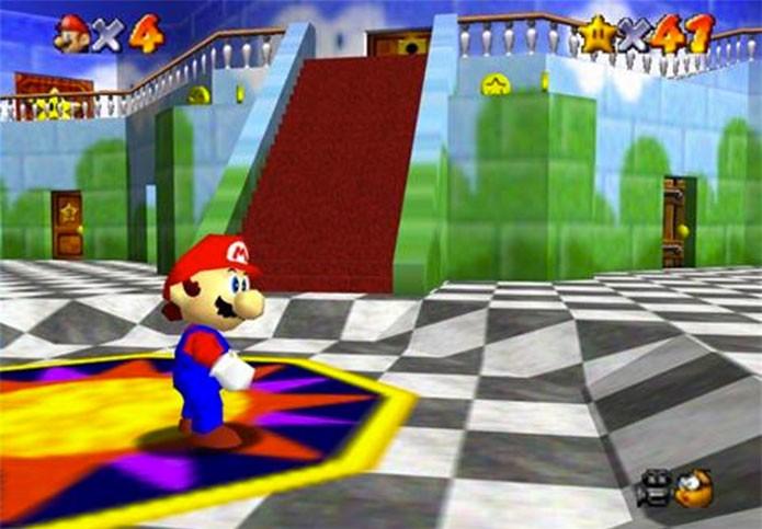 super-mario-64-melhores1 (Foto: Super Mario 64 (Foto: Divulgação))