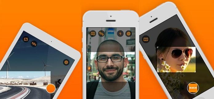 Capture fotos na horizontal independente da posição que seu gadget está (Foto: Divulgação/AppStore)