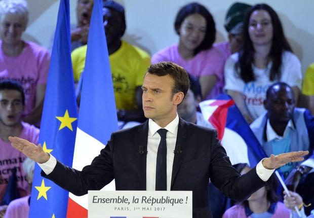 Emmanuel Macron (Foto: Aurelien Meunier/Getty Images)