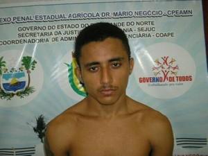 Francisco Antônio Duarte, de 27 anos, foi encontrado enforcado nesta segunda (16) (Foto: Reprodução/Marcelino Neto)