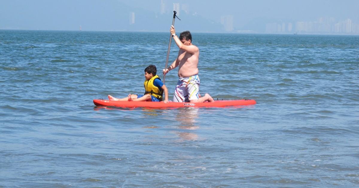c73e410a6 G1 - Stand up paddle exige cuidados para ser praticado com segurança -  notícias em Turismo e Viagem