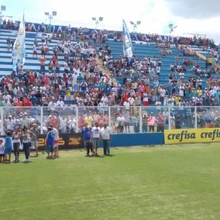 Água Santa Estádio Distrital do Inamar (Foto: Divulgação: Água Santa/Tuddo Comunicação)