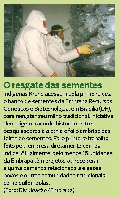 indios-sementes-banco-genetico (Foto: Sueli Issaka/Ed. Globo)