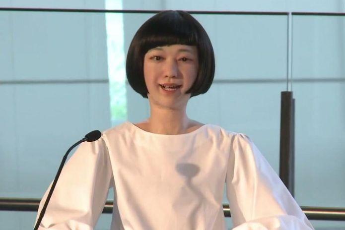 Você confiaria na notícia lida por um robô ao invés de um humano? (Foto: Reprodução)