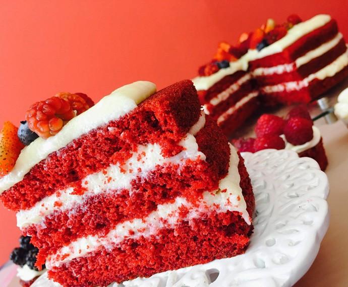 Red Velvet Cake Porn