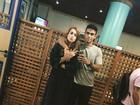 Após rumores de romance, Sergio Malheiros posa com Sophia Abrahão