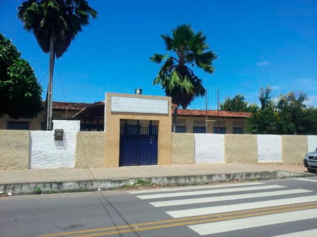 Escola Estadual Walter Duarte Pereira, na zona Norte de Natal, não funcionou nesta sexta (Foto: Antonio Coelho/Inter TV Cabugi)