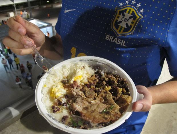tropeiro do Mineirão no jogo do Brasil (Foto: Tarcísio Badaró)