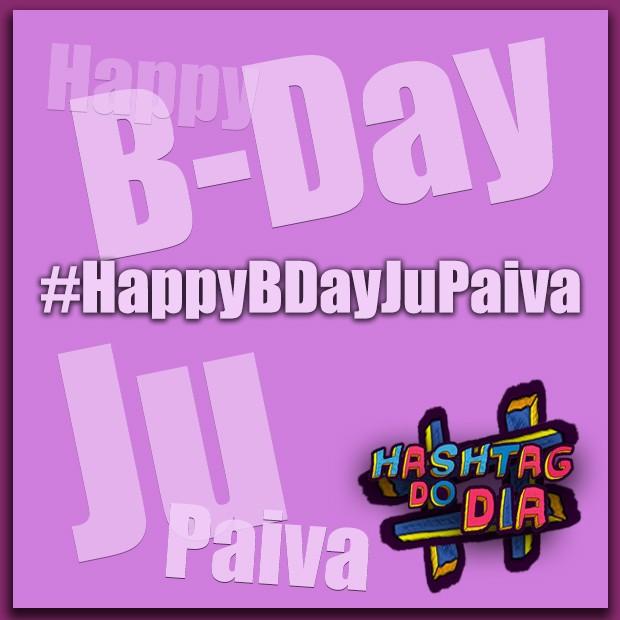 Hashtag do dia: #HappyBDayJuPaiva (Foto: Malhação / TV Globo)