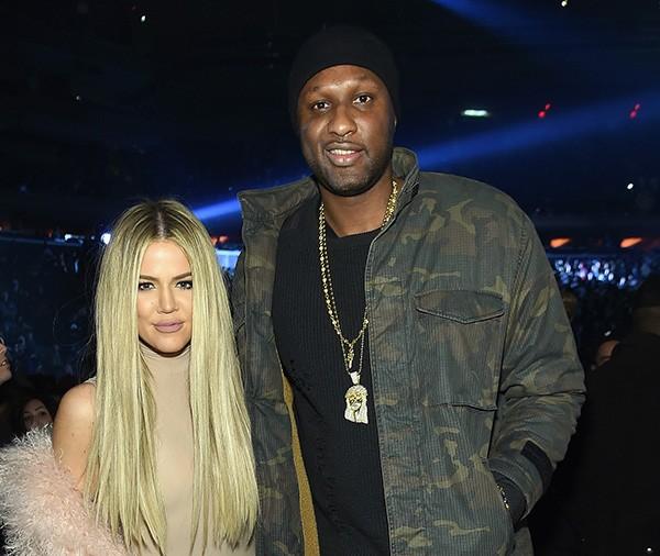 Lamar Odom e Khloe Kardashian (Foto: Getty Images)