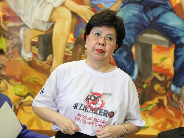 Diretora geral da OMS, Margareth Chan, visita o Recife (Foto: Aldo Carneiro/ Pernambuco Press)