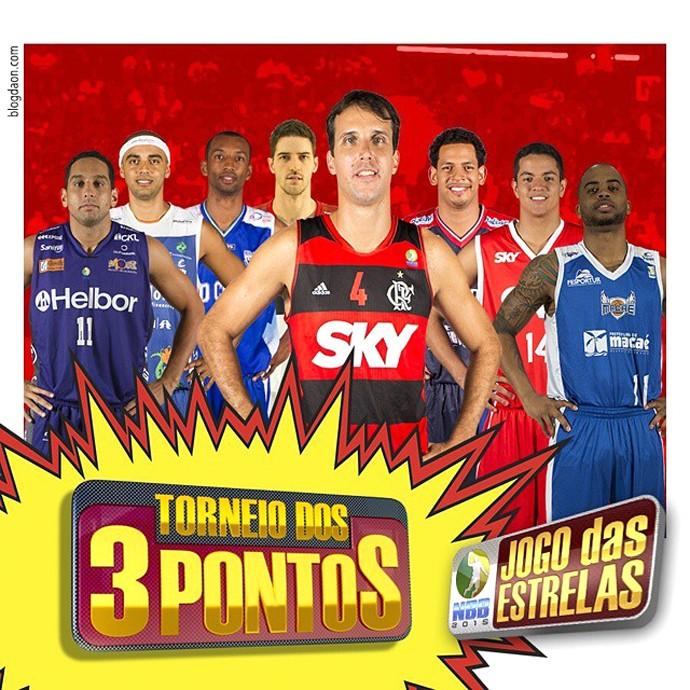 Torneio 3 Pontos NBB (Foto: Reprodução / Instagram)
