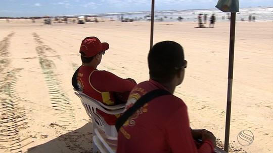 Bombeiros alertam para riscos de afogamentos nas praias sergipanas