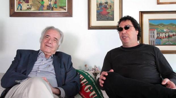 João Carlos Martins e Casagrande (Foto: Daphne Ruivo)
