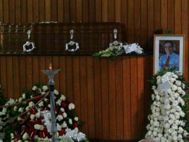 Cremação de Marcelo Déda, governador de Sergipe, em Salvador (Foto: Maiana Belo/G1)