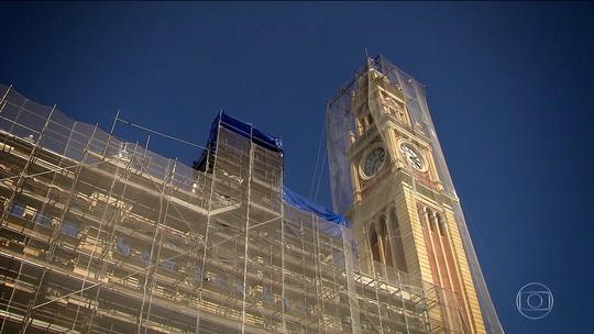 Museu da Língua Portuguesa passa por restauração depois de incêndio