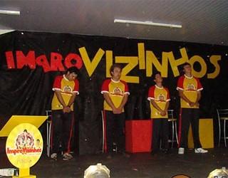 """Show de Improviso – """" Improvizinhos"""" (Foto: Divulgação)"""