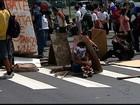 Grupo volta a protestar contra tarifa de ônibus e fecha avenida no ES