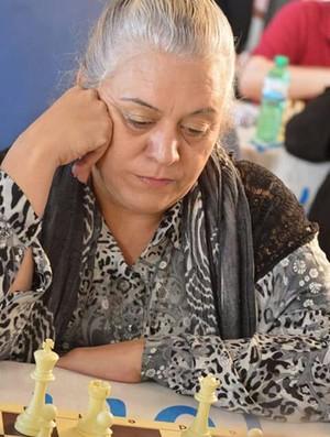 Selma Cristina da Rocha, jogadora de Xadrez (Foto: Selma Cristina / Cedida)