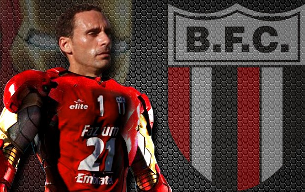 César Gaúcho, o homem de ferro do Botafogo-SP (Foto: Arte/Rhenê Cavichia)