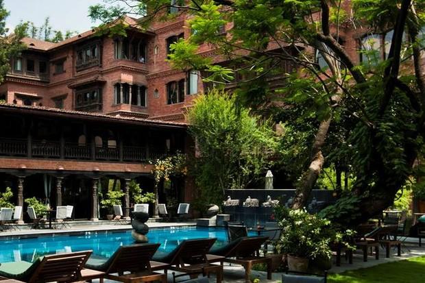 Hotel Dwarika's  (Foto: reprodução)