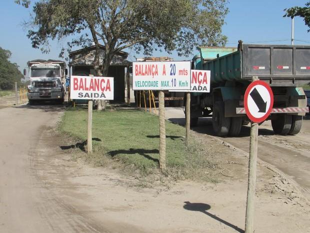 balança rodoviária tamoios cabo frio (Foto: Divulgação)