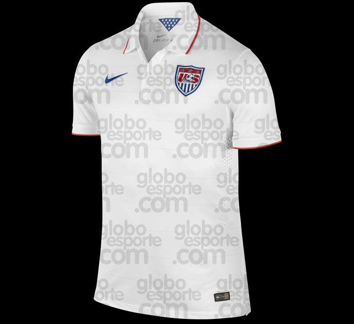 Camisa Estados Unidos copa do mundo 2014
