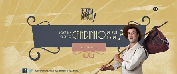 Candinho - teste (Foto: Globo)