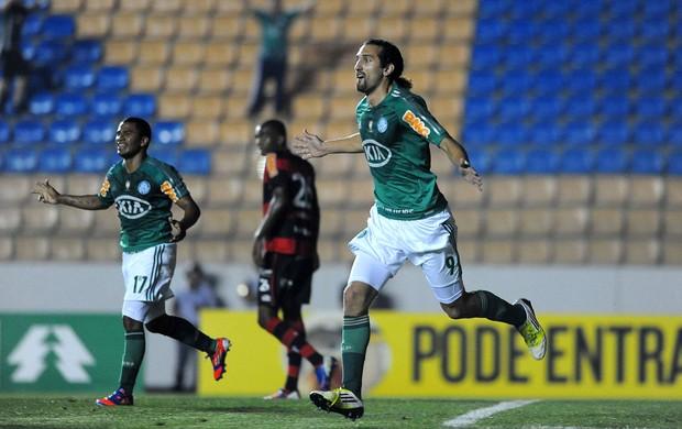 Barcos gol Palmeiras (Foto: Marcos Ribolli / Globoesporte.com)