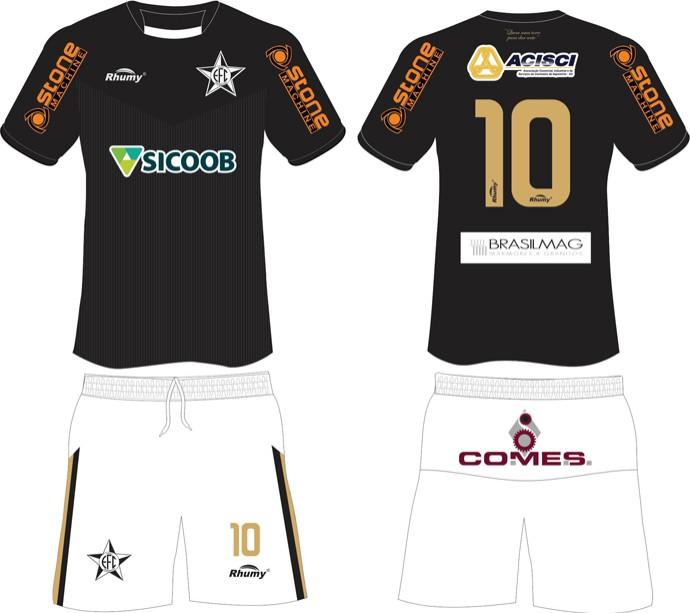 Uniforme 3 2014 do Estrela do Norte (Foto: Divulgação/Estrela do Norte FC)