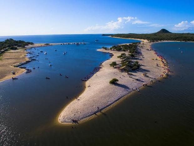 fot aerea da ilha do amor  (Foto: Ádrio Denner/ AD Produções )