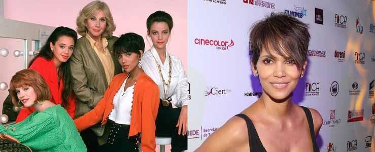 Antes de surgir como Tempestade em 'X-Men' (2000) e de ganhar o Oscar de Melhor de Atriz em 'A Última Ceia' (2001), Berry fez a sitcom 'Living Dolls', em 1989. (Foto: Reprodução/Getty Images)