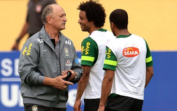 Felipão treino seleção brasileira (Foto: André Durão / Globoesporte.com)