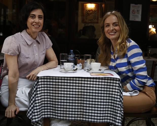 Angélica entrevista Fernanda Torres (Foto: TV Globo/ Fábio Rocha)