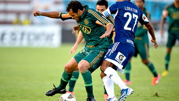 Charles jogo Sporting Palmeiras (Foto: AFP)