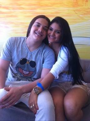 Wesley Safadão e Mileide, sua ex-mulher (Foto: Reprodução/Youtube)